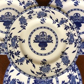 MINTON - 【レア美品】ミントン★ブルーデルフト★デザート皿 4枚