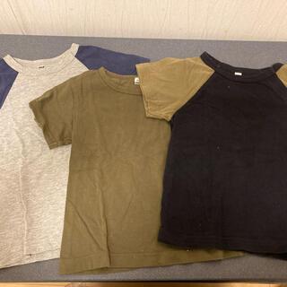 ムジルシリョウヒン(MUJI (無印良品))の無印 3枚セット(Tシャツ)