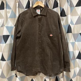 ダントン(DANTON)のDANTON別注×CIAOPANIC コーディロイシャツ カバーオール(シャツ)