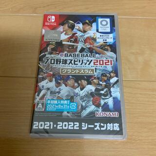 ニンテンドースイッチ(Nintendo Switch)のeBASEBALL プロ野球スピリッツ2021 グランドスラム Switch(家庭用ゲームソフト)