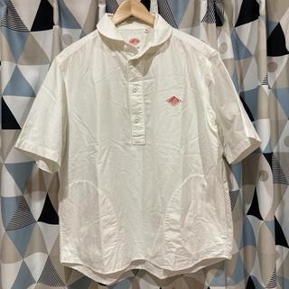 ダントン(DANTON)のダントン 半袖シャツ 白色 ホワイト 丸襟(シャツ)