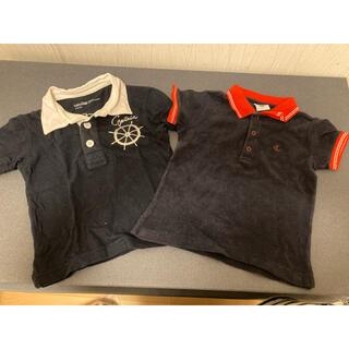 プチバトー(PETIT BATEAU)のGAP プチバトー ポロシャツ セット(シャツ/カットソー)