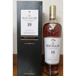 MACALLAN マッカラン18年 シェリーオークカスク 2020&2018(ウイスキー)