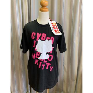 サンリオ(サンリオ)のサイバージャパン×ハローキティ コラボTシャツ(Tシャツ/カットソー(半袖/袖なし))