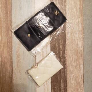 クレイサス(CLATHAS)のクレイサス キルティングミニ財布&ミニポーチ(財布)