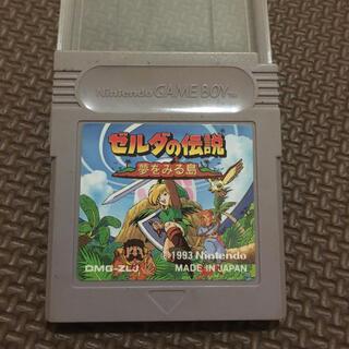 ゲームボーイ(ゲームボーイ)のSG11 ゲームボーイソフト ゼルダの伝説 夢をみる島(家庭用ゲームソフト)