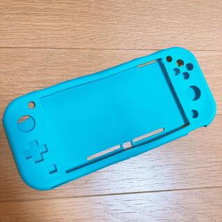 ニンテンドースイッチ(Nintendo Switch)のSwitch Lite シリコンカバー 【 ターコイズ 】(その他)