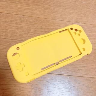 ニンテンドースイッチ(Nintendo Switch)のSwitch Lite シリコンカバー 【 イエロー 】(その他)