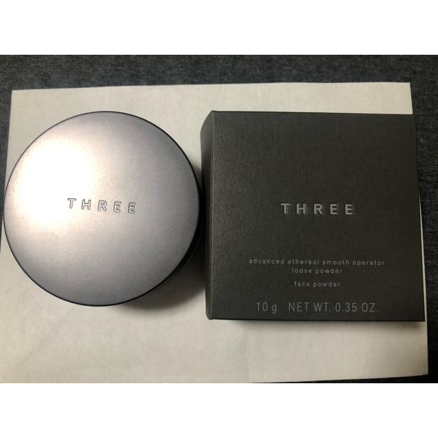 THREE(スリー)のTHREE♡アドバンスドエシリアルスムースオペレータールースパウダー02♡ コスメ/美容のベースメイク/化粧品(フェイスパウダー)の商品写真