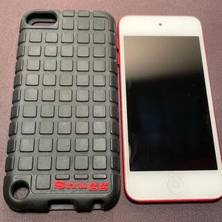 アイポッドタッチ(iPod touch)のiPod  touch  64GB 第6世代 レッド(ポータブルプレーヤー)