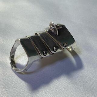 ヴィヴィアンウエストウッド(Vivienne Westwood)の美品 ☆Vivienne Westwood☆ アーマーリング Lサイズ(リング(指輪))