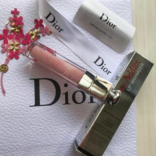 ディオール(Dior)のディオール アディクト リップ マキシマイザー ピンク 001 新品 Dior(リップグロス)