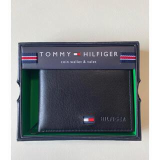 TOMMY HILFIGER - 新品 TOMMY HILFIGER トミーヒルフィガー 折り財布 黒 ブラック