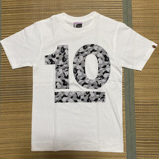 アベイシングエイプ(A BATHING APE)のAPE BAPE KAWS NOWHERE 10周年 限定 tシャツ camo(Tシャツ(半袖/袖なし))