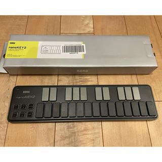 コルグ(KORG)のnanoKEY2 ブラック KORG MIDIキーボード(MIDIコントローラー)