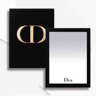 ディオール(Dior)のディオール Dior ミラー スタンドミラー ノベルティ 非売品 ロゴ 完売 箱(ミラー)