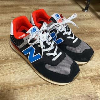 ニューバランス(New Balance)の美品 new balance ML574SOV 26.5cm(スニーカー)