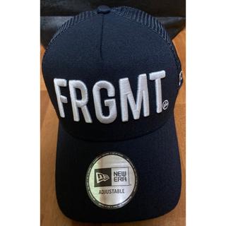 FRAGMENT - FRAGMENT DESIGN×NEW ERA FRGMT CAP NAVY