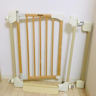 リッチェル(Richell)のリッチェル 木製 ベビーゲート(ベビーフェンス/ゲート)