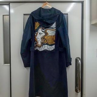 DRIES VAN NOTEN - Dries Van Noten 16AW printed mods coat
