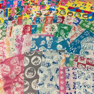 昭和レトロ 駄菓子屋千代紙120枚 サラサ折り紙おりがみ千代紙交換カコちゃん(印刷物)
