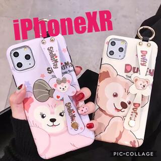ダッフィー(ダッフィー)の新品 iPhoneXR ダッフィー スマホケース ディズニー キャラクター(iPhoneケース)