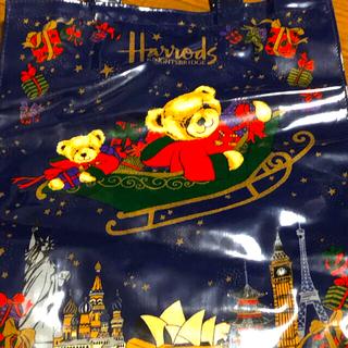 ハロッズ(Harrods)のハロッズ クリスマストートバッグ(トートバッグ)