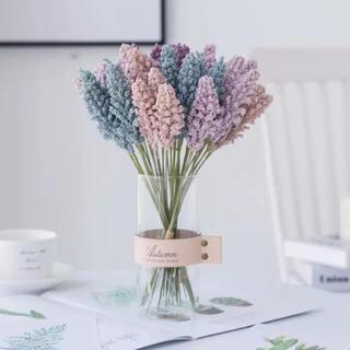 ラベンダー 造花 フェイクグリーン フラワー 6本セット(その他)