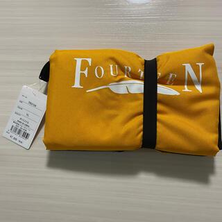 フォーティーン(Fourteen)のフォーティーン トラベルカバー 9.5型まで対応 イエロー(バッグ)