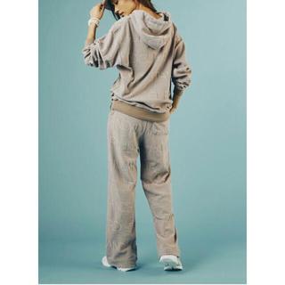 ダブルスタンダードクロージング(DOUBLE STANDARD CLOTHING)のダブスタ❣️完売❣️LAXURY JERSEY パイルパーカー(パーカー)