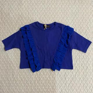 ユニカ(UNICA)の新品 未使用 unica ユニカ Tシャツ トップス 半袖 七分袖 90 100(Tシャツ/カットソー)
