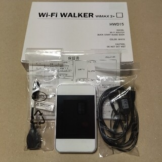 HUAWEI - ポケットWiFi ルーター HWD15 WiMAX