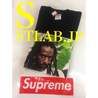 シュプリーム(Supreme)の黒 S 19SS Buju Banton Tee ブジュバントン Tシャツ(Tシャツ/カットソー(半袖/袖なし))