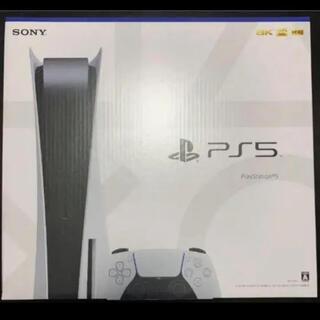 プレイステーション(PlayStation)の【新品未開封】SONY PS5 ディスクドライブ搭載モデル(家庭用ゲーム機本体)
