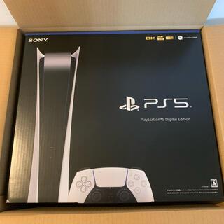 プレイステーション(PlayStation)のプレステ5 デジタルエディション 新品未開封(家庭用ゲーム機本体)