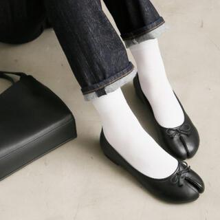 イエナスローブ(IENA SLOBE)の足袋シューズ 黒(バレエシューズ)