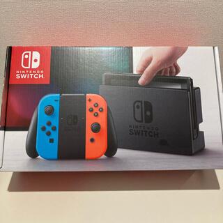 ニンテンドースイッチ(Nintendo Switch)のNintendo Switch 本体 JOY-CON ネオンブルー/レッド(家庭用ゲーム機本体)