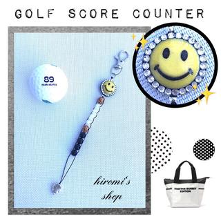 パーリーゲイツ(PEARLY GATES)のゴルフ スコアカウンター キラキラニコちゃん スカート パンツ カートバッグ(ウエア)