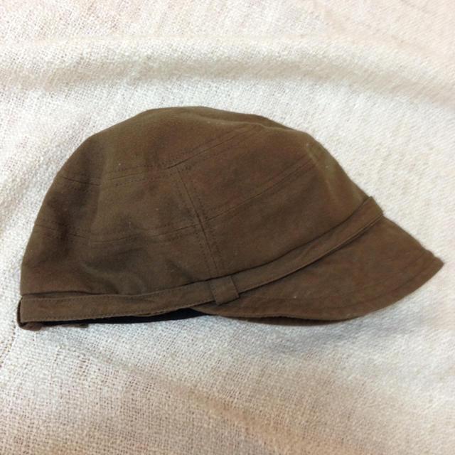MUJI (無印良品)(ムジルシリョウヒン)の無印 ブラウンの帽子☆ レディースの帽子(その他)の商品写真