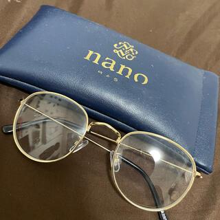 ナノユニバース(nano・universe)のナノユニバース 丸ぶちメガネ 伊達メガネ(サングラス/メガネ)