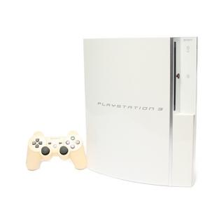 ソニー(SONY)のソニー SONY PS3 本体 ホワイト(家庭用ゲーム機本体)