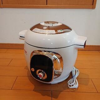 ティファール(T-fal)の【美品】T-FAL CY7011JP ティファール クックフォーミー 圧力鍋 マ(調理機器)