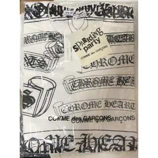 クロムハーツ(Chrome Hearts)のコムデギャルソン×クロムハーツ 2007年クリスマス限定 Tシャツ 希少Lサイズ(Tシャツ/カットソー(半袖/袖なし))