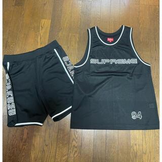 シュプリーム(Supreme)のsupreme juel basketball jersey 上下セットアップ(タンクトップ)