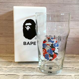 アベイシングエイプ(A BATHING APE)のSALE❣️BAPEグラス  新品未使用 (グラス/カップ)