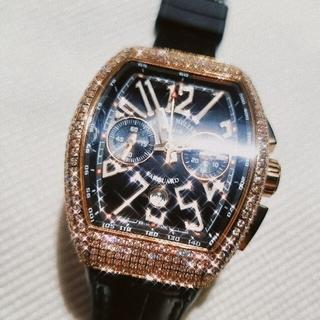 ウブロ(HUBLOT)の腕時計 FMダイヤPG  新品(腕時計(アナログ))