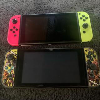 ニンテンドースイッチ(Nintendo Switch)の任天堂スイッチ 水没 2台セット(家庭用ゲーム機本体)