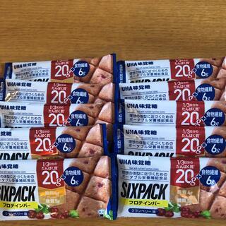 ユーハミカクトウ(UHA味覚糖)のUHA味覚糖 プロテインバー SIXPACK  クランベリー味 10袋(プロテイン)