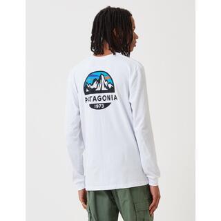 パタゴニア(patagonia)のPatagonia ロンT Fits Scope Long ホワイト S(Tシャツ/カットソー(七分/長袖))