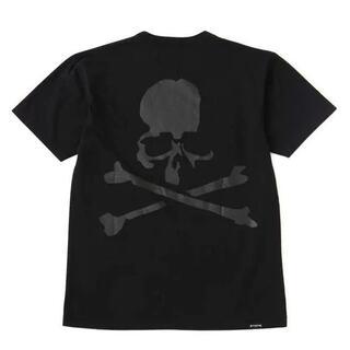 マスターマインドジャパン(mastermind JAPAN)の21ss mastermind JAPAN x Schott Tシャツ 黒 M(Tシャツ/カットソー(半袖/袖なし))